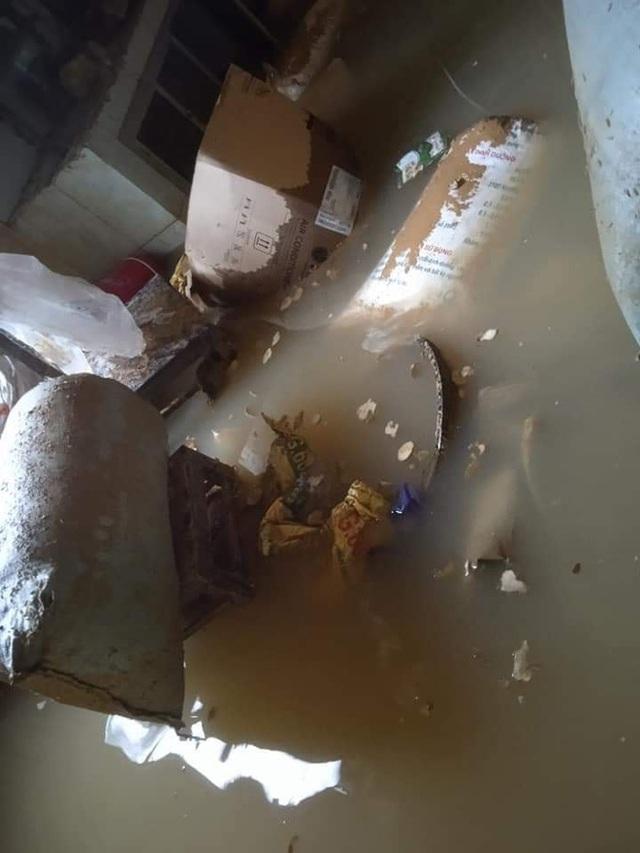 Khung cảnh nhà cửa tan hoang sau trận đại hồng thuỷ ở Quảng Bình: Tài sản bị ngâm nước nhầy nhụa bùn đất, thóc mọc mầm, vật nuôi chết hàng loạt - Ảnh 26.