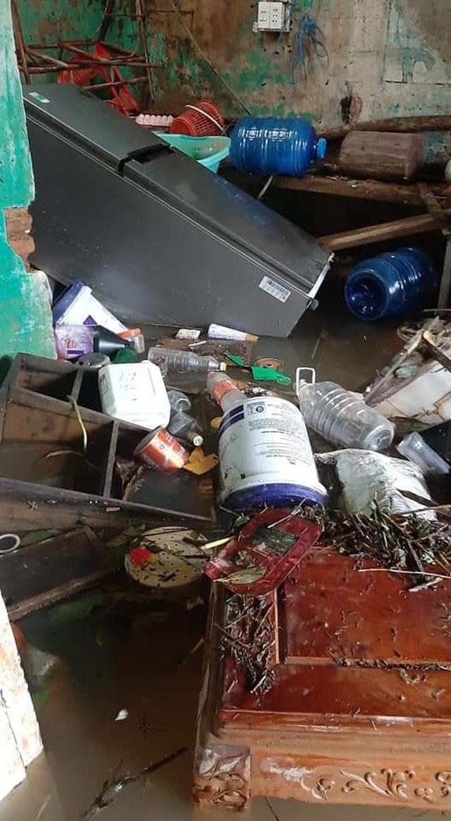 Khung cảnh nhà cửa tan hoang sau trận đại hồng thuỷ ở Quảng Bình: Tài sản bị ngâm nước nhầy nhụa bùn đất, thóc mọc mầm, vật nuôi chết hàng loạt - Ảnh 10.