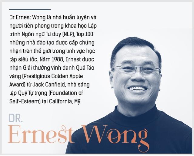 Dr Ernest Wong: Giấc mơ của tôi là mentor thành công cho 1.000 triệu phú tự thân trước tuổi 30, với nhiều bạn trẻ Việt Nam - Ảnh 1.