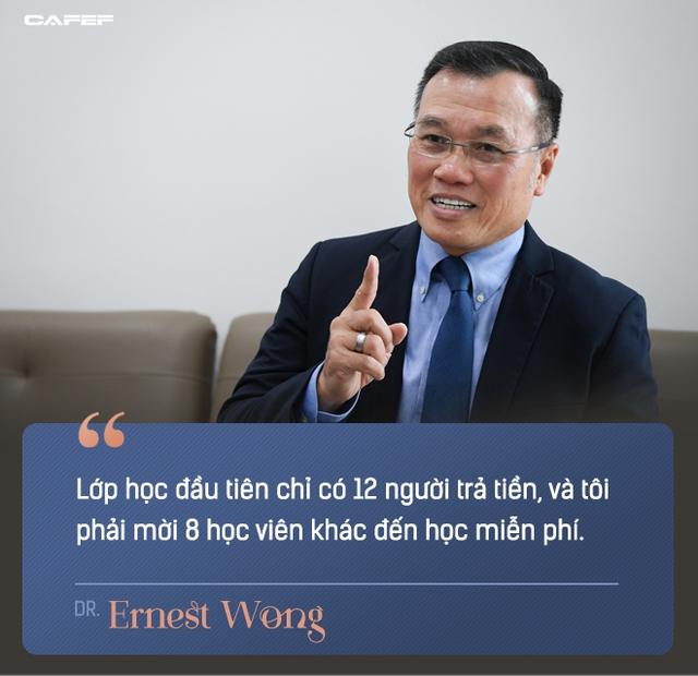 Dr Ernest Wong: Giấc mơ của tôi là mentor thành công cho 1.000 triệu phú tự thân trước tuổi 30, với nhiều bạn trẻ Việt Nam - Ảnh 3.