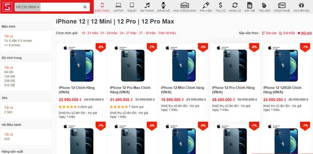 IPhone 12 xách tay tạo sức ép về giá với các đại lí chính hãng - Ảnh 1.