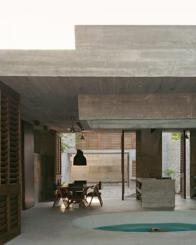 Ngôi nhà khỏa thân có hình dáng kỳ lạ ở Mexico - Ảnh 4.