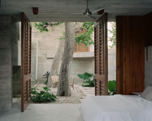 Ngôi nhà khỏa thân có hình dáng kỳ lạ ở Mexico - Ảnh 9.