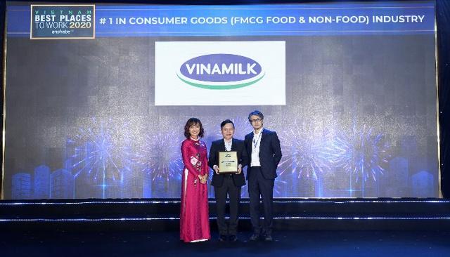Vinamilk lần thứ 3 liên tiếp được bình chọn là nơi làm việc tốt nhất Việt Nam - Ảnh 5.