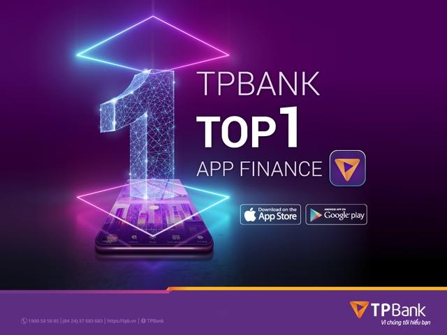 TPBank Mobile bất ngờ lọt top 1 ứng dụng tài chính ngân hàng được tải nhiều nhất tại Việt Nam - Ảnh 3.