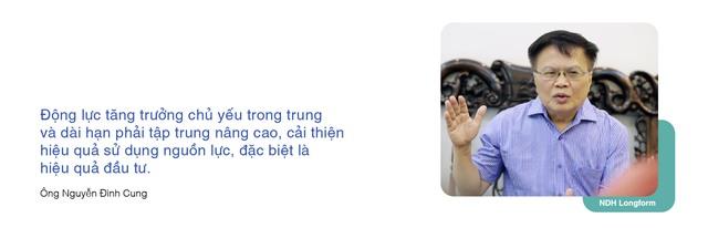 Ông Nguyễn Đình Cung: Nâng cấp mức độ phát triển kinh tế thị trường, tăng trưởng 9-10% không phải là thách thức với Việt Nam - Ảnh 6.