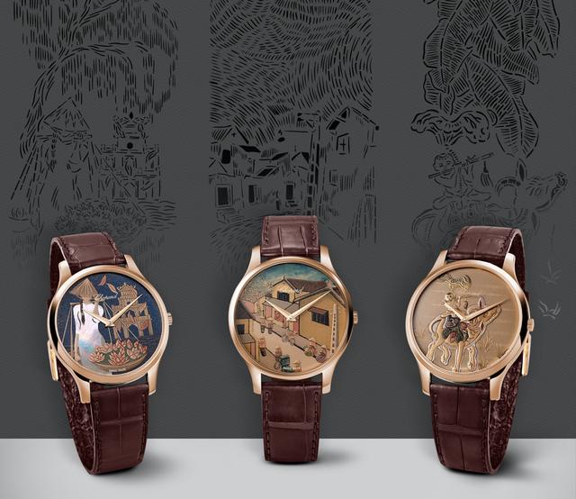 Lần đầu tiên một hãng đồng hồ lâu đời tại Thụy Sĩ giới thiệu 3 phiên bản giới hạn thể hiện những hình ảnh đặc trưng của Việt Nam - Ảnh 1.