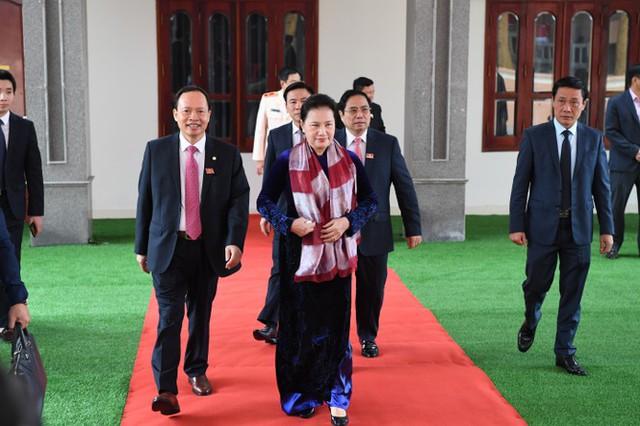 Hình ảnh lãnh đạo Đảng, Nhà nước dự Đại hội Đảng bộ Thanh Hóa - Ảnh 1.
