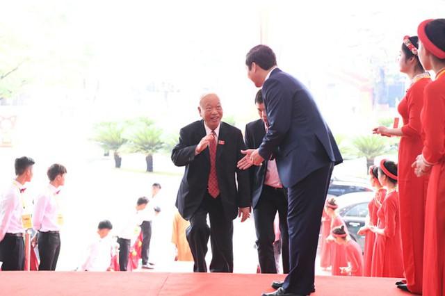 Hình ảnh lãnh đạo Đảng, Nhà nước dự Đại hội Đảng bộ Thanh Hóa - Ảnh 3.