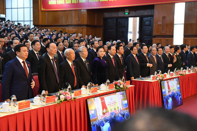 Hình ảnh lãnh đạo Đảng, Nhà nước dự Đại hội Đảng bộ Thanh Hóa - Ảnh 4.