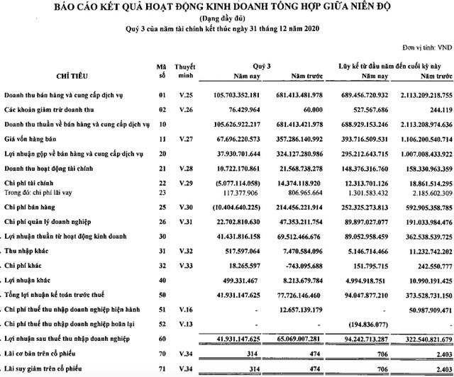 Tiếp tục ngưng trệ do Covid-19, Sasco – 'gà đẻ trứng vàng' của ông Jonathan Hạnh Nguyễn giảm 75% lợi nhuận sau 9 tháng - Ảnh 1.