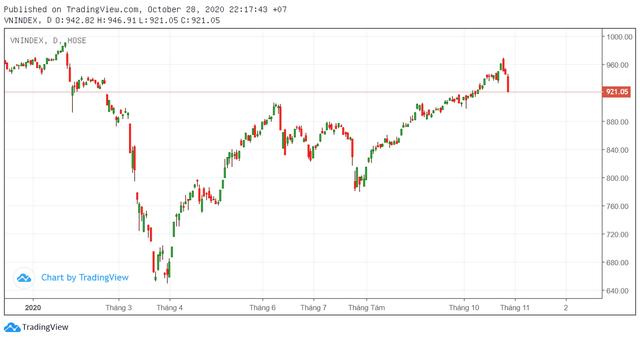 Thị trường giảm sâu, nhiều Công ty chứng khoán dự báo VN-Index hồi phục tại vùng 900 điểm - Ảnh 2.