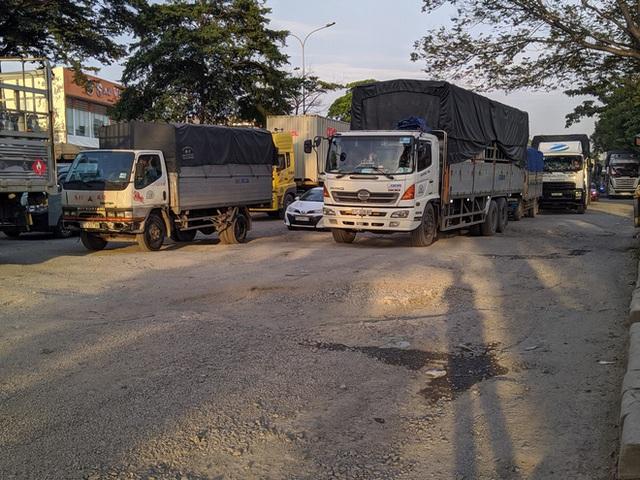 Ổ gà, ổ voi chằng chịt trên đại lộ 100 triệu USD, con đường đẹp nhất phía nam Sài Gòn - Ảnh 5.