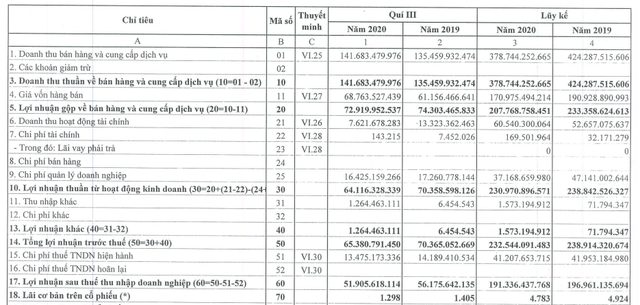 Cảng Đình Vũ (DVP) báo lãi 191 tỷ đồng trong 9 tháng, giảm 2,8% so với cùng kỳ - Ảnh 1.