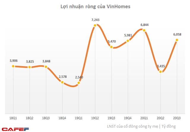 VinHomes: Lãi ròng 9 tháng tăng 7% lên hơn 16.300 tỷ đồng - Ảnh 1.
