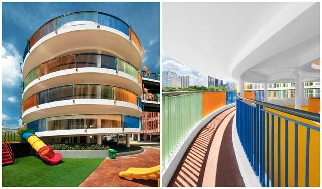 Trường mầm non rực rỡ sắc màu ở Cầu Giấy, Hà Nội - Ảnh 5.