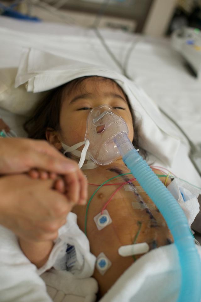 Bố Nhật cùng con gái bị bệnh tim bẩm sinh chiến đấu suốt 10 năm: Bố chẳng cần gì, chỉ cần con sống và 10.000 bức ảnh động lòng người - Ảnh 8.