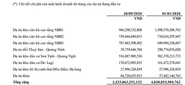 Ghi nhận kết quả chuyển nhượng bất động sản, Năm Bảy Bảy (NBB) công bố doanh thu quý 3 gấp 9 lần cùng kỳ - Ảnh 1.