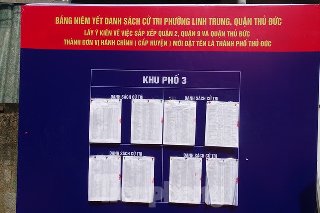 Người dân TPHCM đi bỏ phiếu về việc thành lập TP Thủ Đức - Ảnh 3.