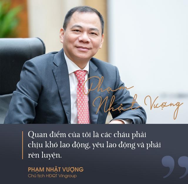 Con tỷ phú Việt Nam học việc để nối nghiệp gia đình ra sao? - Ảnh 3.