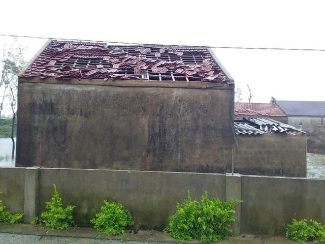 Chưa đầy 1 phút, trận lốc xoáy làm tốc mái 29 nhà dân  - Ảnh 5.