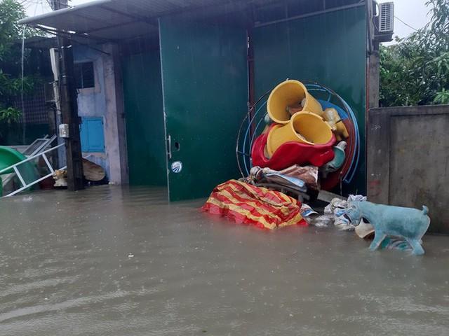 Mưa lớn, thủy điện đồng loạt xả lũ, hàng ngàn nhà dân ở Nghệ An bị ngập sâu  - Ảnh 7.