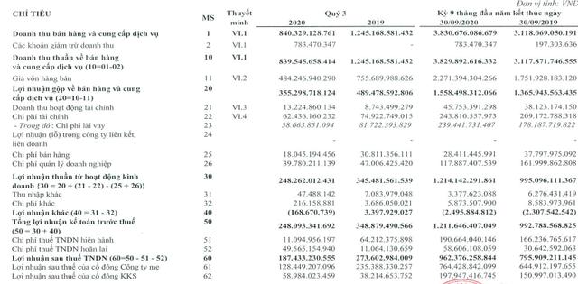 Tập đoàn Hà Đô (HDG) báo lãi 962 tỷ đồng trong 9 tháng, tăng 21% so với cùng kỳ - Ảnh 1.