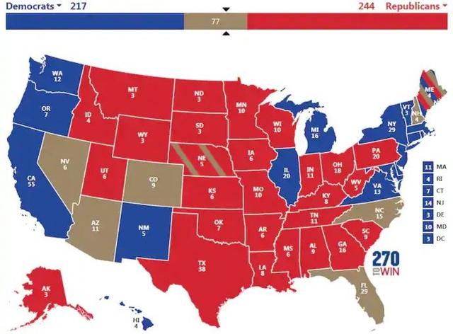 Bầu cử Mỹ 2020: 3 kịch bản ông Trump giành chiến thắng phiếu đại cử tri  - Ảnh 2.