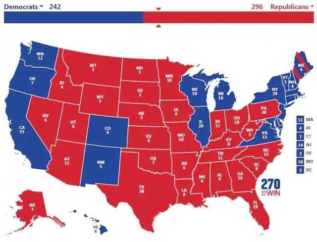 Bầu cử Mỹ 2020: 3 kịch bản ông Trump giành chiến thắng phiếu đại cử tri  - Ảnh 3.