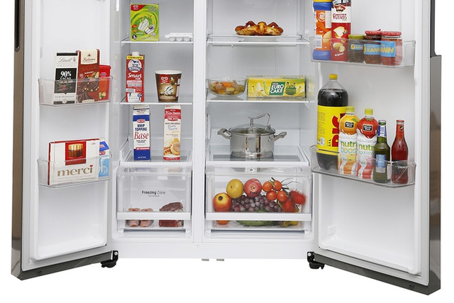 Gợi ý loạt tủ lạnh 600 lít tiết kiệm điện đang giảm giá, nhiều chiếc rẻ hơn 20 triệu đồng - Ảnh 2.