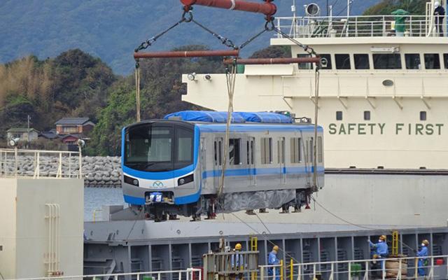 Các toa tàu đầu tiên của tuyến Metro số 1 sẽ về Việt Nam trong tháng này - Ảnh 1.