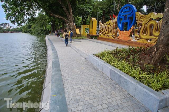 Diện mạo hồ Hoàn Kiếm sau 5 tháng chỉnh trang - Ảnh 13.