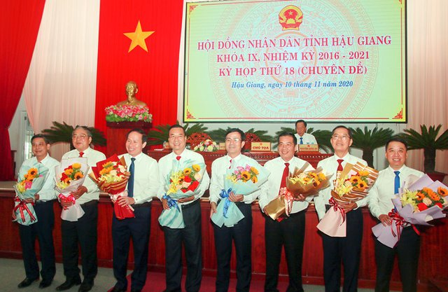 Hậu Giang có tân Chủ tịch HĐND và Chủ tịch UBND tỉnh - Ảnh 1.