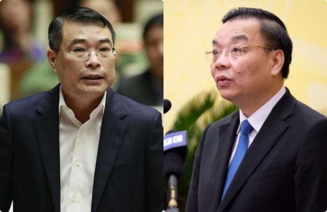Quốc hội xem xét miễn nhiệm Bộ trưởng Chu Ngọc Anh và Thống đốc Lê Minh Hưng  - Ảnh 1.