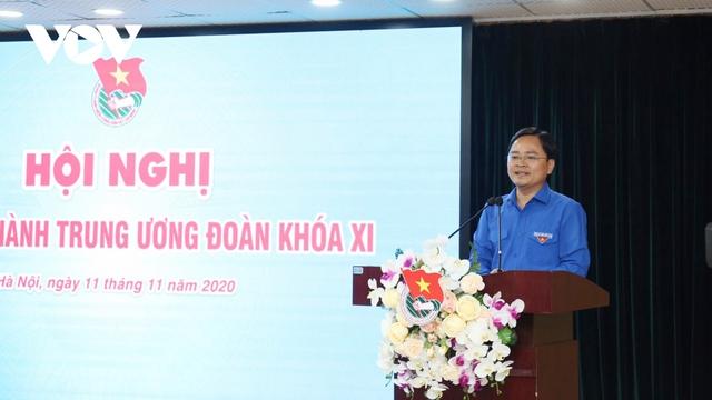 Ông Nguyễn Anh Tuấn được bầu làm Bí thư thứ nhất Trung ương Đoàn  - Ảnh 1.