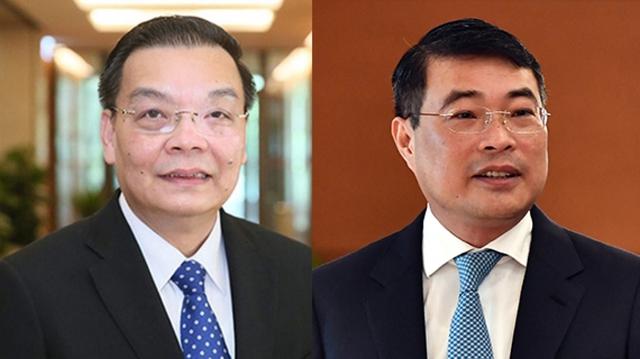 Quốc hội phê chuẩn miễn nhiệm ông Chu Ngọc Anh và ông Lê Minh Hưng  - Ảnh 1.