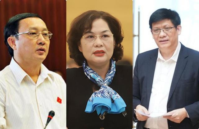 Ba nhân sự cho vị trí Bộ trưởng Y tế, Bộ trưởng KH-CN, Thống đốc NHNN là ai?  - Ảnh 1.