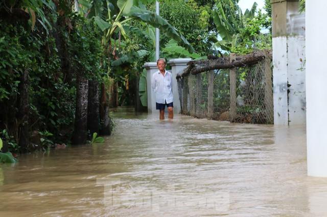 Bão tan nhưng dân phố biển Nha Trang vẫn bì bõm nơi nước ngập - Ảnh 6.