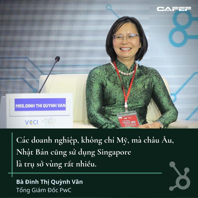 Tổng giám đốc PwC giải mã việc doanh nghiệp nước ngoài đầu tư vào Việt Nam qua các công ty Singapore và tham vọng trở thành trung tâm tài chính của TP.HCM - Ảnh 1.