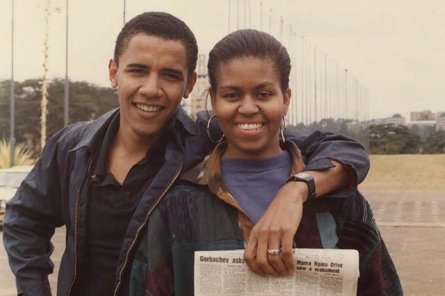 """Sau gần 30 năm kết hôn, lần đầu tiên Michelle Obama tiết lộ: """"Đã có lúc muốn đẩy chồng ra ngoài cửa sổ"""" - Ảnh 1."""