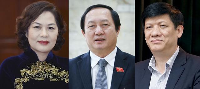 Quốc hội tiến hành phê chuẩn bổ nhiệm 3 tân thành viên Chính phủ  - Ảnh 1.