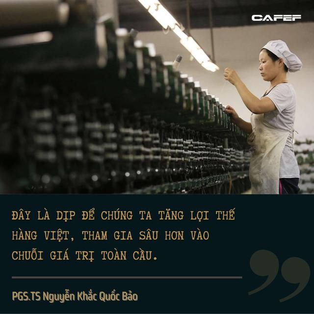 PGS.TS Nguyễn Khắc Quốc Bảo: Tổng thống Mỹ là ai thì các bài toán kinh tế của Việt Nam vẫn không thay đổi - Ảnh 4.