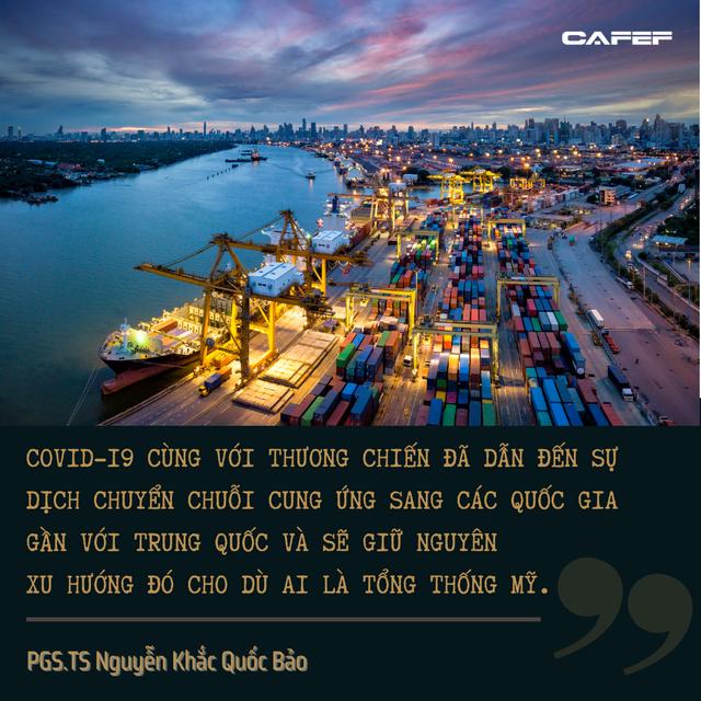 PGS.TS Nguyễn Khắc Quốc Bảo: Tổng thống Mỹ là ai thì các bài toán kinh tế của Việt Nam vẫn không thay đổi - Ảnh 6.