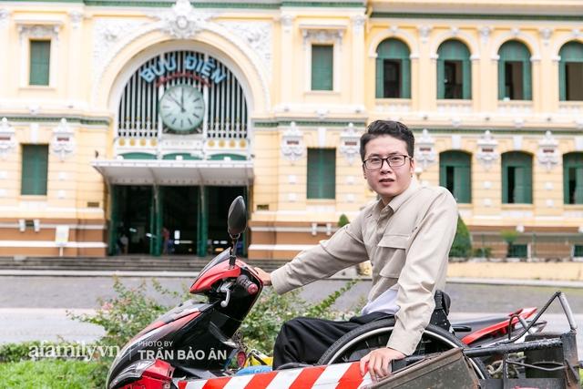 """Chàng trai đi phượt bằng xe lăn, chinh phục những con đèo hiểm trở nhất Việt Nam: """"Mất 10 năm định nghĩa hai từ """"tự do"""" bằng cách chưa ai từng làm!"""" - Ảnh 20."""