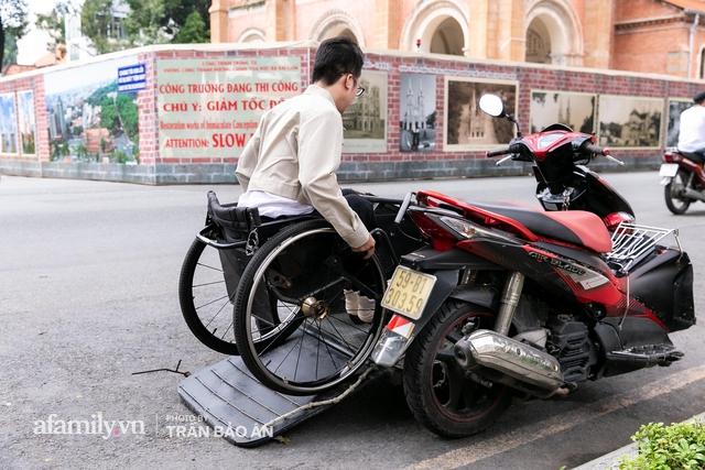 """Chàng trai đi phượt bằng xe lăn, chinh phục những con đèo hiểm trở nhất Việt Nam: """"Mất 10 năm định nghĩa hai từ """"tự do"""" bằng cách chưa ai từng làm!"""" - Ảnh 10."""