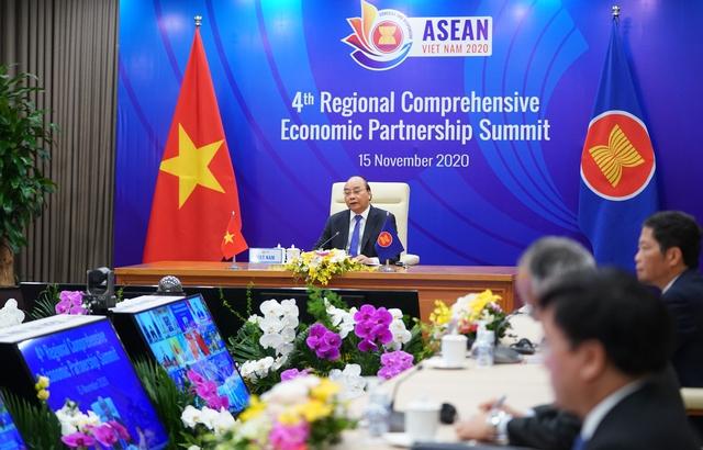 Chính thức kết thúc đàm phán Hiệp định Đối tác toàn diện khu vực - Ảnh 1.