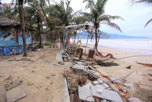Ảnh: Cận cảnh bãi biển đẹp nhất hành tinh tan hoang, xơ xác sau bão số 13 - Ảnh 13.
