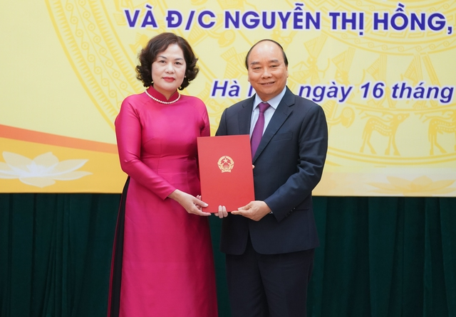 Thủ tướng trao quyết định, giao nhiệm vụ cho tân Thống đốc Ngân hàng Nhà nước - Ảnh 1.