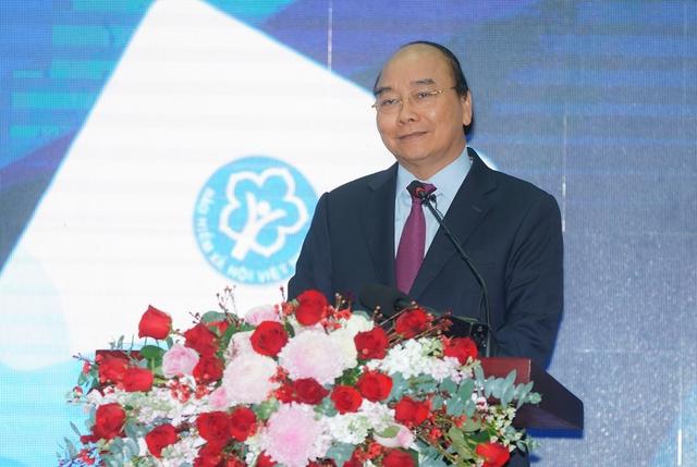 Thủ tướng bấm nút công bố ứng dụng Bảo hiểm xã hội số trên thiết bị di dộng - Ảnh 1.