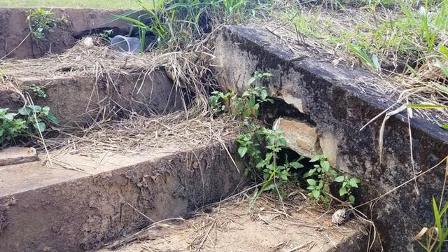 Cận cảnh sụt lún bất thường đe dọa hồ Tuyền Lâm  - Ảnh 4.